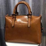 Sacos reais de Shoudler do couro genuíno de senhora de saco bolsa do mensageiro do couro da vaca para as mulheres Emg5126