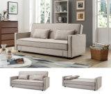 Новая кровать софы ткани места влюбленности конструкции для домашней живущий комнаты (HC131)
