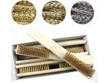 Mango de plástico Venta caliente Cepillo de alambre de acero de limpieza