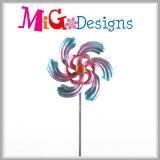 Новый приезжанный кинетический коль сада обтекателя втулки ветра цветка