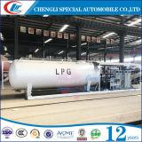 スキッドのASME 40ton LPGのスキッドタンク20mton LPGタンク