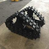 Piccolo sistema di pista di gomma per la sedia a rotelle verde Zyw-130