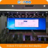 실내 높은 정의 SMD P3 풀 컬러 발광 다이오드 표시