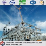 Construção de aço pesada do serviço da soldadura de aço para a central energética