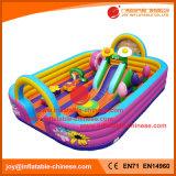 中国の膨脹可能なおもちゃのInflatabeの跳躍の城のAmsument公園の警備員(T3654)