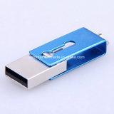 방수 USB 기억 장치 지팡이 소형 회전대 전화 USB Pendrive