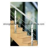 Guarniciones movibles de la barandilla, barandilla moderna de Customeized de la barandilla del balcón del diseño de la escalera