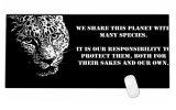 Cat резиновые больших игр игровой коврик для мыши блок заблокирован 900*400*3мм размер XL