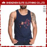 Camisetas por encargo del algodón del servicio barato al por mayor del OEM 100 (ELTMBJ-259)