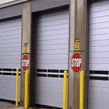 Porte dure automatique d'obturateur en métal de résistance de l'impact