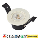 5W CCT Dimmable LED Downlight mit Cer RoHS 3 Jahre Garantie-