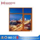 Das europäische Glas Art-Aluminiumprofil Kippen-Drehen Fenster für Empfang-Raum