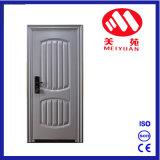 Puerta de acero blanca popular de Exterior&Inetrior de la seguridad del país de Medio Oriente
