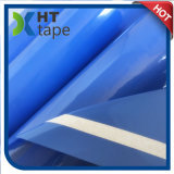 Cinta adhesiva de acrílico de la película azul del animal doméstico para la pintura y el enmascarado del coche
