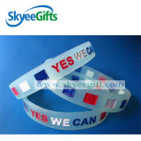 Wristband su ordinazione del silicone per lo sport