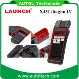 Melhor scanner de diagnóstico automotivo Lançamento X431 Diagun IV 2 anos de atualização livre Código Scanner Lançamento X-431 Diagun 4