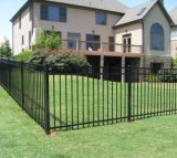 Jardin résidentiel en acier galvanisé de zinc clôturant avec ISO9001