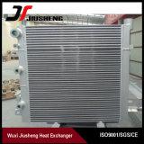 Échangeur de chaleur en aluminium de compresseur d'ailette de plaque