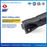 CNC 선반 Indexable 맷돌로 가는 공구 롤빵 정각 어깨 마스크 선반 Bap400r-40-200-C32-3t에 의하여 추천되는 삽입 Apmt1604pder
