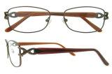 Рамки Eyeglasses оптически рамки стекел глаза зрелищ повелительниц модные Titanium