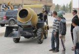 Misturador concreto móvel com caminhão de mistura