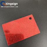 Shinny le prix acrylique de feuille de scintillement