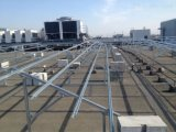 Sistema di alluminio anodizzato OEM del montaggio di comitati solari