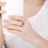 Juwelen 925 van de luxe de Echte Zilver Gevulde Ring van het Zirkoon van de AMERIKAANSE CLUB VAN AUTOMOBILISTEN