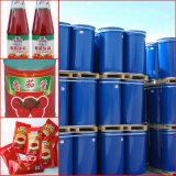 新彊のトマトのり、HACCP、ISO、ユダヤ、Halalのドラム220Lと缶のパッケージ