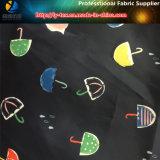 Ткань тафты полиэфира с печатание передачи тепла для одежды малыша