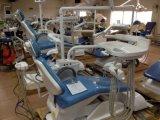 Zahnmedizinisches Gerät der silbernen Farben-Osa-1 mit beweglichem Cuspidor (NEUER Entwurf)