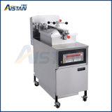 Elektrischer oder Gas-Typ freie stehende Kfc Druck-Bratpfanne der Rotisseries-Maschine