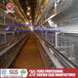 Jaula de la parrilla de Filipinas para la línea de la casta de las capas del pollo del bebé (H-4L120)
