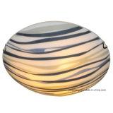 Moderne niedrigerer Preis-runde Glasdeckenleuchte für Innendekoration