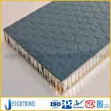 Panneau d'Honeycomb Anti-Skid gaufrage en aluminium avec design de mode