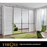 白い木のワードローブの戸棚の食器棚の単位Tivo-00017hw