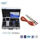 Le brevet de Pqwt-200s facile portent le détecteur d'eaux souterraines pour 200m profonds