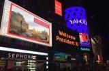 높은 광도 P6 옥외 방수 풀 컬러 LED 영상 스크린