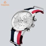 Vigilanza 72682 del cronografo della fascia di manopola dell'acciaio inossidabile del cronografo del Mens di modo