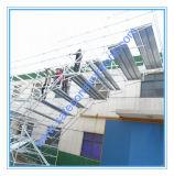 Échafaudage approuvé sûr en métal de GV pour la construction