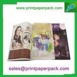 Service d'impression fait sur commande de luxe de brochure/catalogue/feuillet