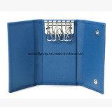 Custom провод фиолетового цвета кожи или натуральная кожа Keycase/ключом подушки безопасности