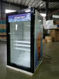 mini refrigerador de la barra de la puerta de cristal 100L para el hotel
