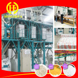 Machine de fabrication de farine de maïs compacte au maïs