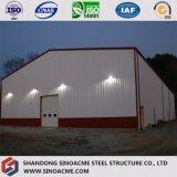 Sinoacmeは金属フレームの構造の建物を組立て式に作った