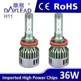 공장 직매 3600lm LED 자동차 램프