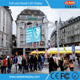 P3.91 alta definición al aire libre LED TV para la demostración viva