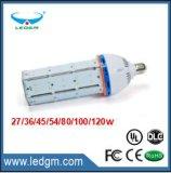 Bulbo 2017 aprovado do diodo emissor de luz do milho do Ce SMD E40 80W100W120W do UL Dlc para a iluminação de salão de exposição, luz do milho do diodo emissor de luz 100W, ampola do milho do diodo emissor de luz
