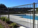 Rete fissa libera della piscina di protezione dei bambini di manutenzione con il cancello