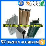 Perfil de aluminio revestido del mejor polvo de la calidad para la ventana y la puerta